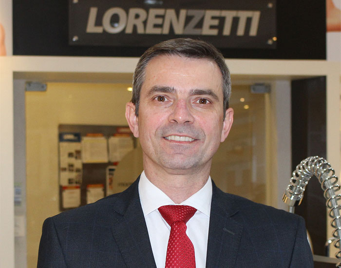 Paulo Galina assume a gerência de Marketing da Lorenzetti